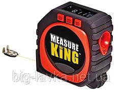 Лазерна рулетка Measure King 3 в 1 з ЖК екраном