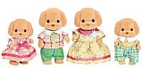 Сильваінан фемелі сім´я Пуделів Calico Critters Toy Poodle Family