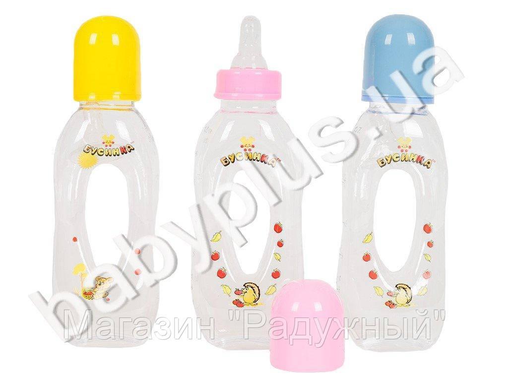 Бутылочка для кормления Бублик, пластиковая, 250 мл