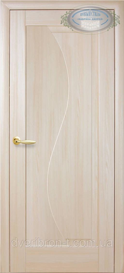Двери Новый Стиль Эскада глухое ясень, коллекция Маэстра Р