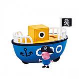 Игровой набор Peppa - КОРАБЛИК ДЕДУШКИ ПЕППЫ (кораблик, фигурка Джорджа), фото 4