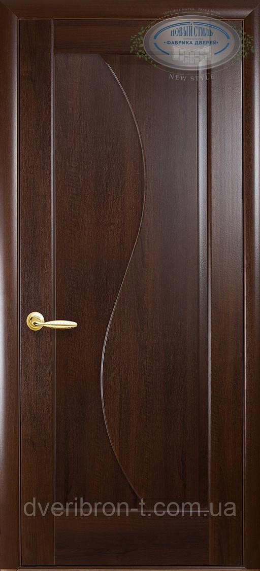 Двери Новый Стиль Эскада глухое каштан, коллекция Маэстра Р