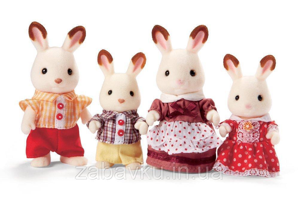 Сім´я Кроликів Сільваніан Calico Critters Hopscotch Rabbit Family