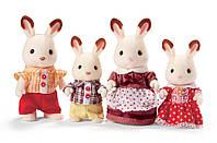 Сім´я Кроликів Сільваніан Calico Critters Hopscotch Rabbit Family, фото 1