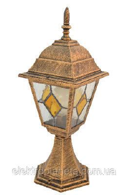 642S античное золото/витражное стекло