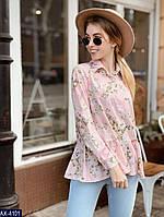 16e7b36774b Шифоновая блуза с цветочным принтом в Украине. Сравнить цены