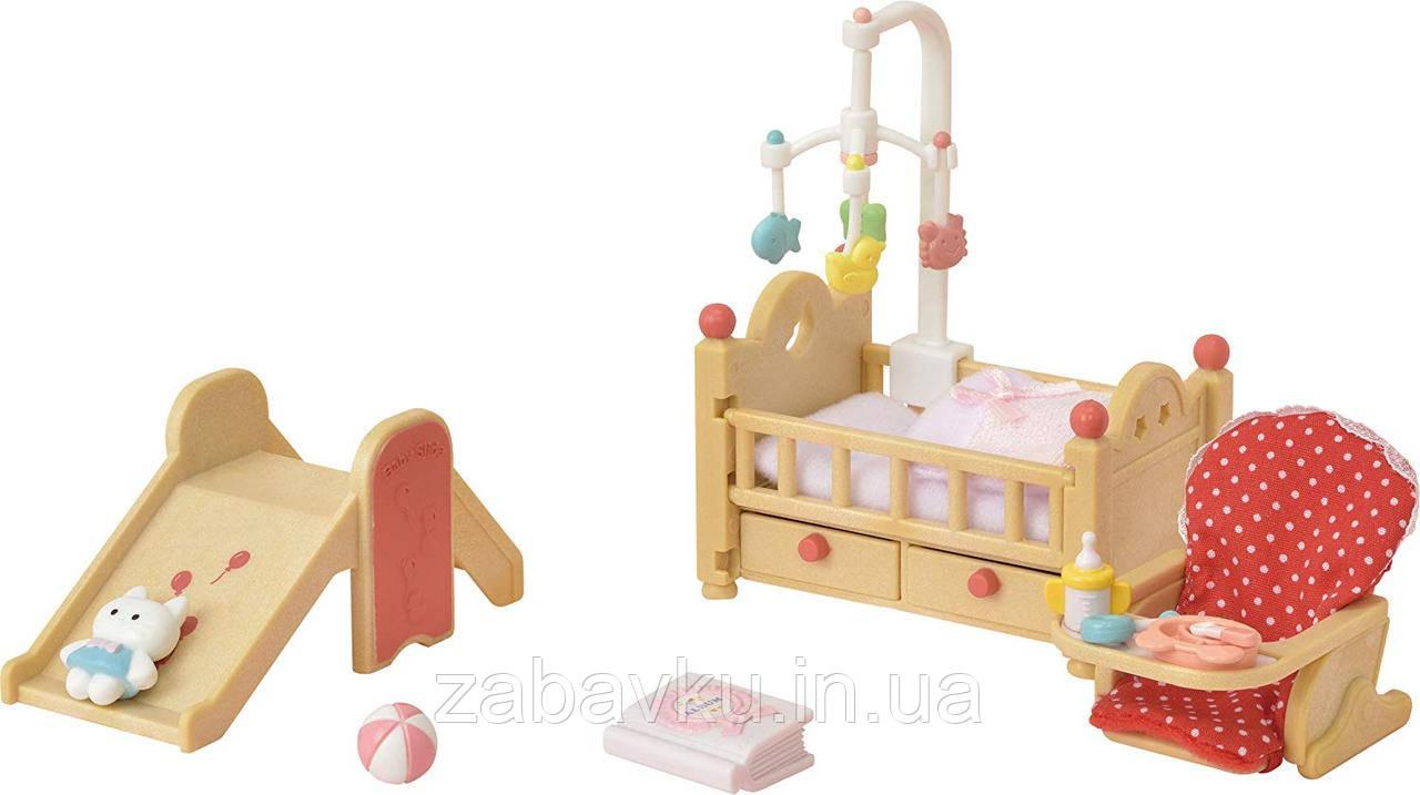 Сільваніан фемеліс дитяча кімната Sylvanian Families Baby Nursery Set