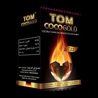 КОКОСОВЫЙ УГОЛЬ TOM COCOCHA GOLD 1КГ (БЕЗ УПАКОВКИ) 72 КУБИКА