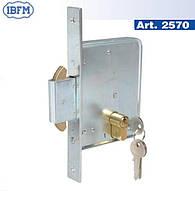 IBFM 2570 - механический замок для откатных ворот, фото 1