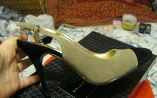 Босоножки туфли от Валентина Юдашкина эко замша 37 р отличная удобная стильная модель