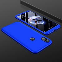 Чохол GKK 360 для Xiaomi Mi A2 / Mi 6X бампер оригінальний Blue