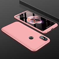 Чохол GKK 360 для Xiaomi Mi A2 / Mi 6X бампер оригінальний Pink