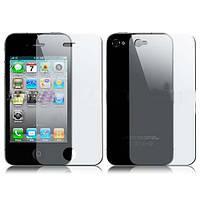 Защитная пленка для Apple iPhone 4 / 4G / 4S / 4GS / 4C / 4С комплект матовая