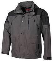 "Куртка дождевик  ""High Mountain"", Black/ Olive"