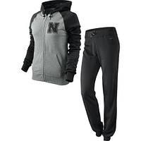 Женский спортивный костюм Nike grey
