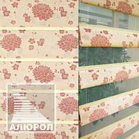 Рулонные шторы 3D Roman Style Flowers