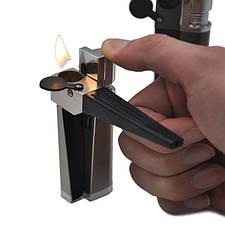Трубка курительная + зажигалка 2в1 № 3003-20