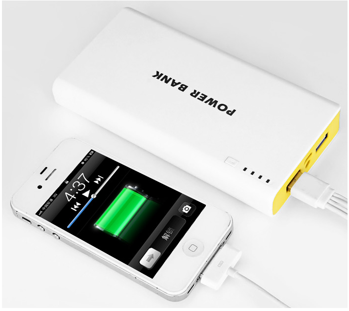 Power Bank 20000 mah 2 USB