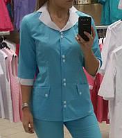 Медицинский женский костюм W-35 малибу