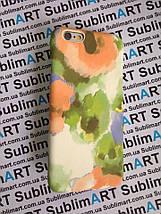 Дизайнерский чехол ручной работы для Iphone 6 (акварельный принт), фото 2