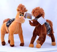Мягкая игрушка Лошадка 30см №404,подарки для детей,пушистая,качественная, лучший подарок для малышей