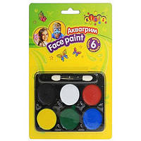 Аквагрим для лица краски Face Paints Kidis 6 цв. 7768