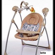 Дитяче крісло - качалка Alexis-Babymix з пультом ДУ