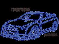 Рулевая рейка с ГУР Peugeot 405 PE208R