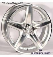 Zorat Wheels 244 6x14 4x100 ET38 DIA67.1 Silver Polished (Серебристый полированный)