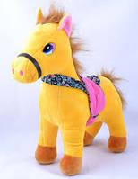 Мягкая игрушка Лошадка №98550,подарки для детей,пушистая,качественная, лучший подарок для малышей