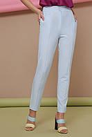 Голубые женские брюки на лето, фото 1