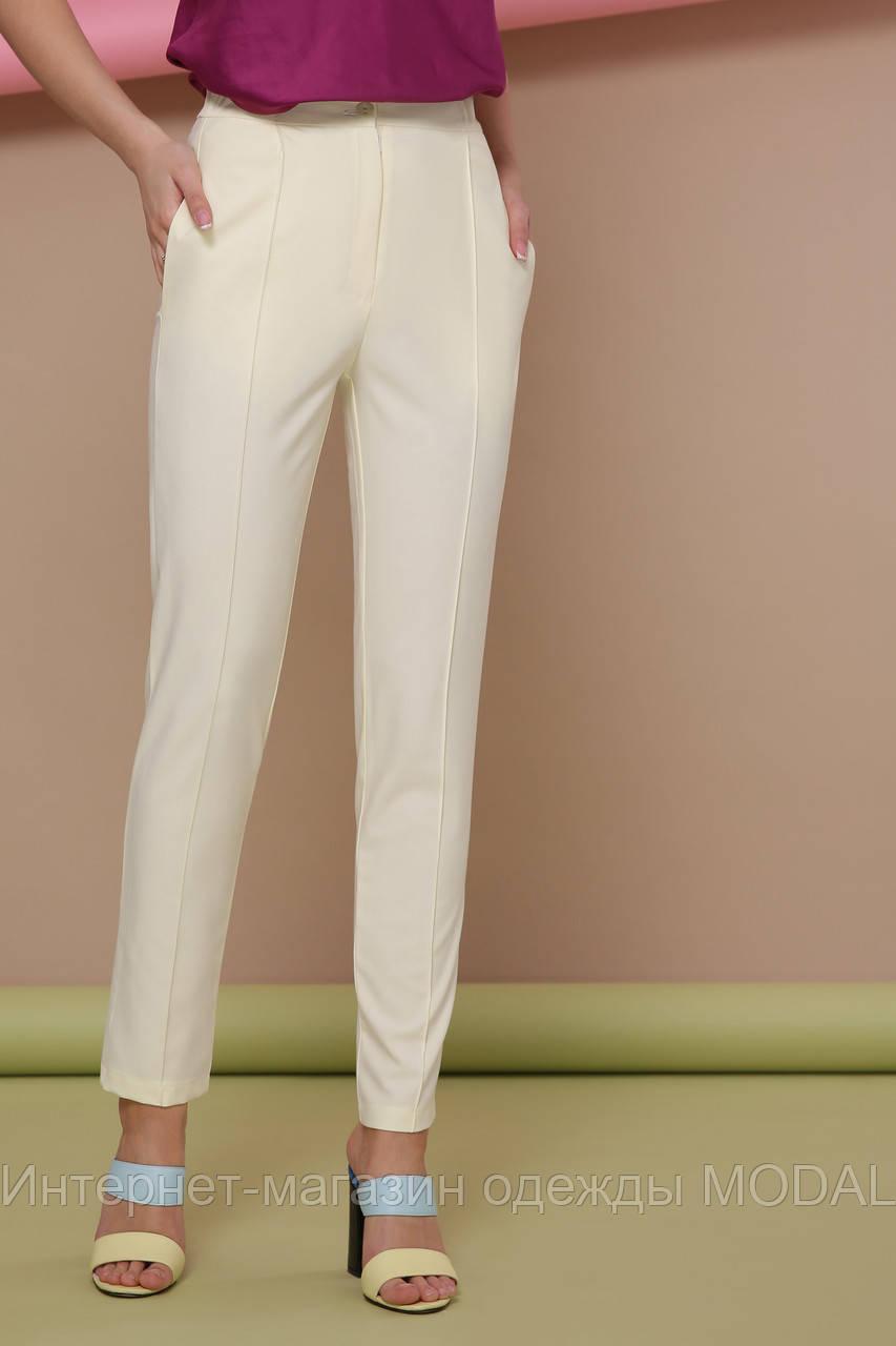 1a1eba44d0c3 Летние светлые женские брюки с карманами - Bigl.ua