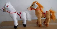Мягкая игрушка озвученная Лошадка (25см) №2140-25,развлекательные игрушки, подарки для малышей