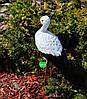 Садовая фигура Семья садовых аистов в гнезде №37, фото 4
