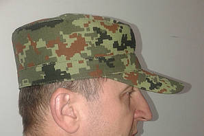 """Кепка НАТО з наметової тканини """"піксель"""", К-2"""