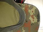 """Кепка НАТО из палаточной ткани """"пиксель"""", К-2, фото 3"""