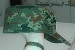 """Кепка НАТО из палаточной ткани """"пиксель"""", К-2, фото 4"""