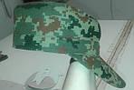 """Кепка НАТО из палаточной ткани """"пиксель"""", К-2, фото 6"""
