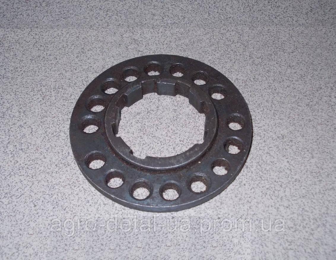 Фланец Д04-023 Б шестерни привода топливного насоса ТНВД(многодырочник) двигателя Д 65