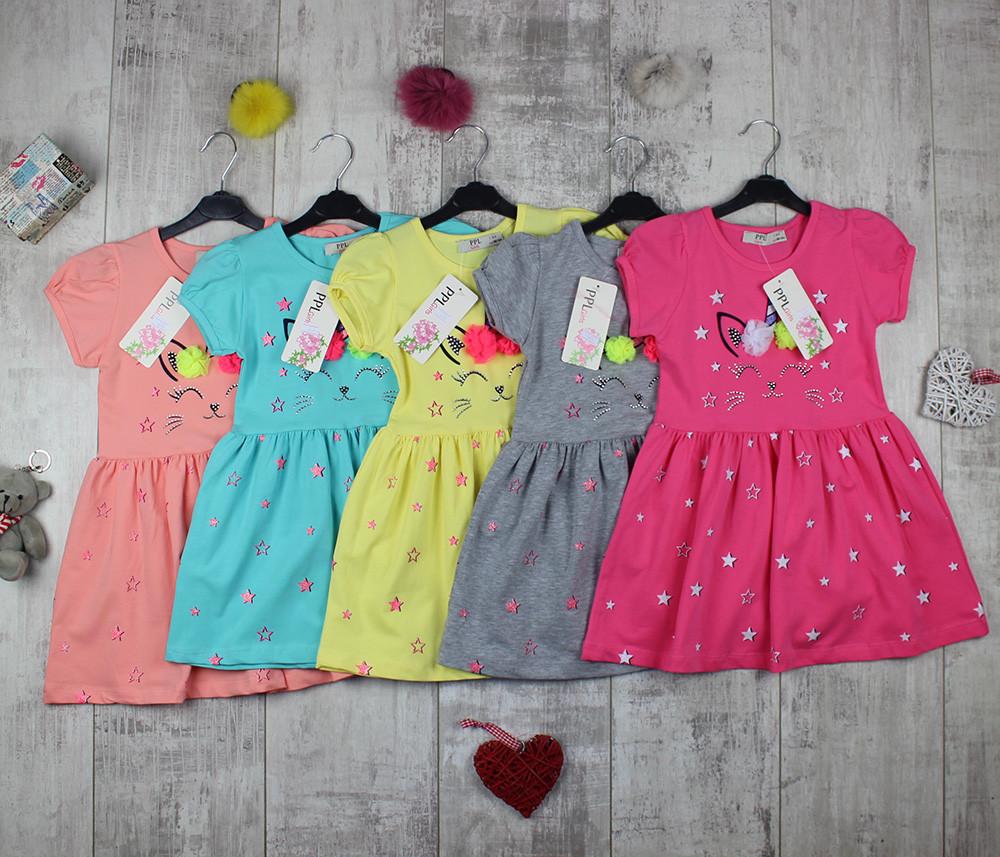 Детские платья оптом на лето PPL 380, фото 1
