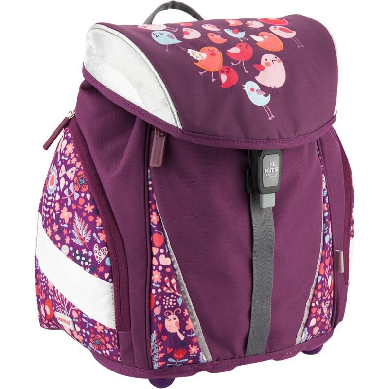 8679f10c9a2a Рюкзак школьный каркасный Kite 37x28x17 см 17 л Сливовый - Bag Travel Box в  Одессе