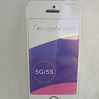 Чохол двосторонній iPhone 5, iPhone 5s