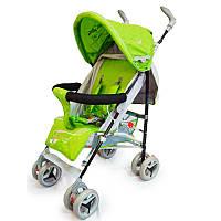 Детская прогулочная коляска трость Sigma BYW-308 Зеленая