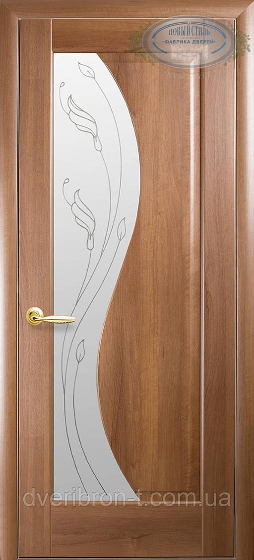 Двери Новый Стиль Эскада + Р2 золотая ольха, коллекция Маэстра Р
