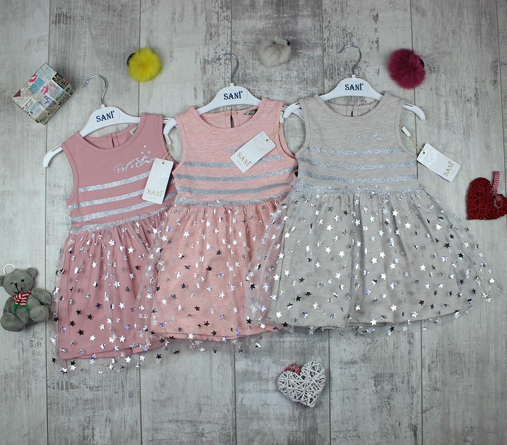 Детские платья оптом на лето Sani №9360, фото 1
