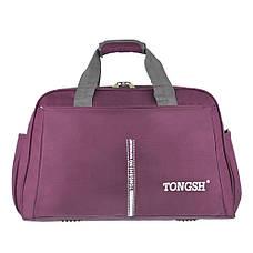 Дорожная сумка полиэстр TONGSHENG 56x37x25 бордовая  ксТС611бор, фото 2
