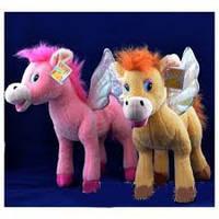 Мягкая игрушка озвученная Пегас №2146,развлекательные игрушки, подарки для малышей, мягкие игрушки животных