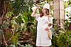 Сукня для вагітних і годування ELEZEVIN SF-29.041, молочна
