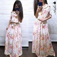 Женское платье в пол от 42 до 52 размера  РАЗНЫЕ ЦВЕТА
