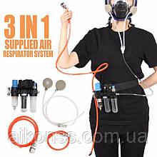 Заміна 3M фільтрів - Система дихання від компресора для 3M6002 3M7502 3M6800 масок